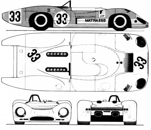 Matra 650 Le Mans (1969)