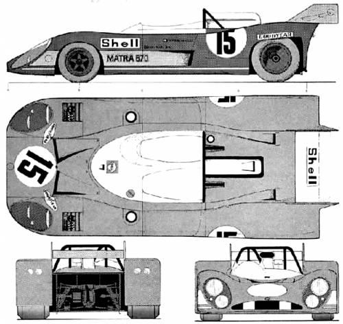 Matra 670 Le Mans (1972)