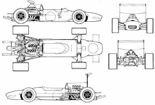Matra MS10 F1 GP (1968)