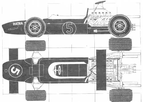 Matra MS11 F1 GP (1970)