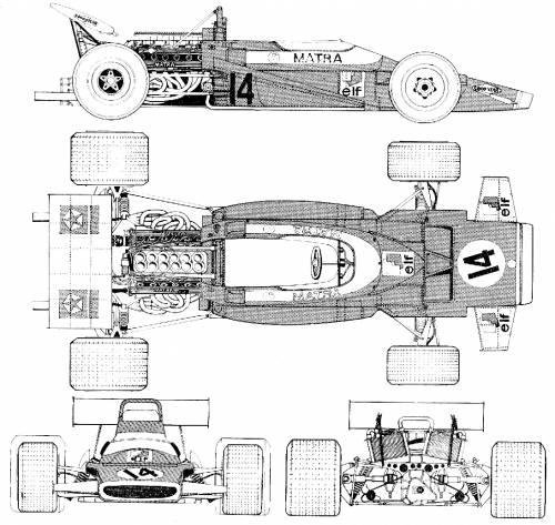 Matra MS120 F1 GP (1970)