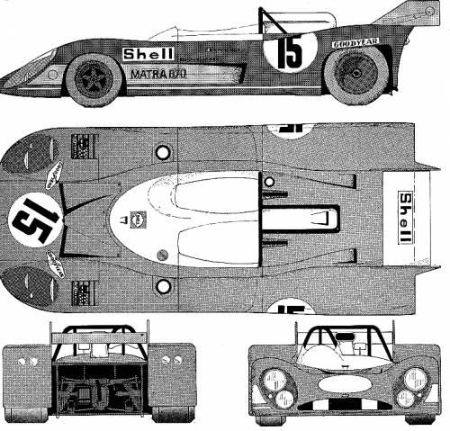 Matra MS670 Le-Mans (1973)