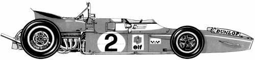 Matra MS80 F1 (1969)