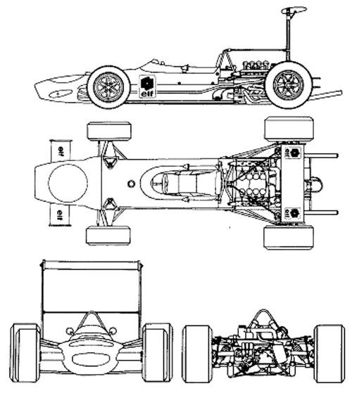 Matra MS 10 F1 GP (1968)