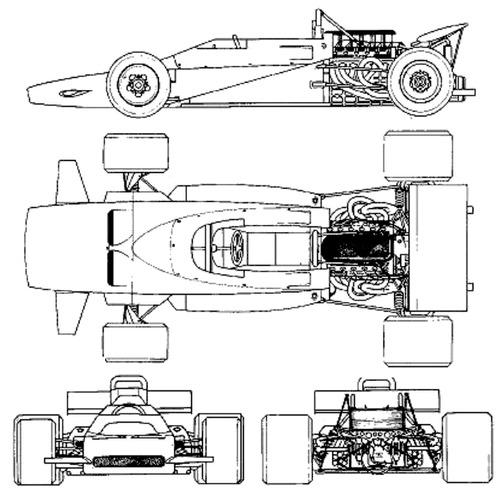 Matra MS 120B F1 GP (1971)