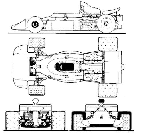 Matra MS 120D F1 GP (1972)