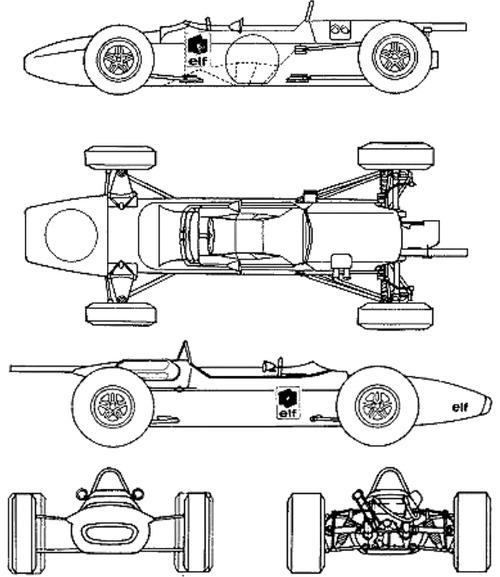 Matra MS 5 F1 GP (1966)