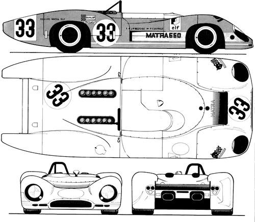 Matra MS 650 (1968)