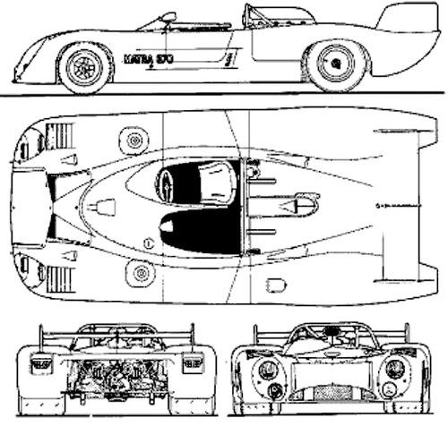 Matra MS 670 Lomg Tail (1972)