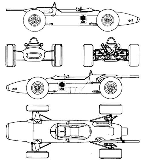Matra MS 7 F1 GP (1968)