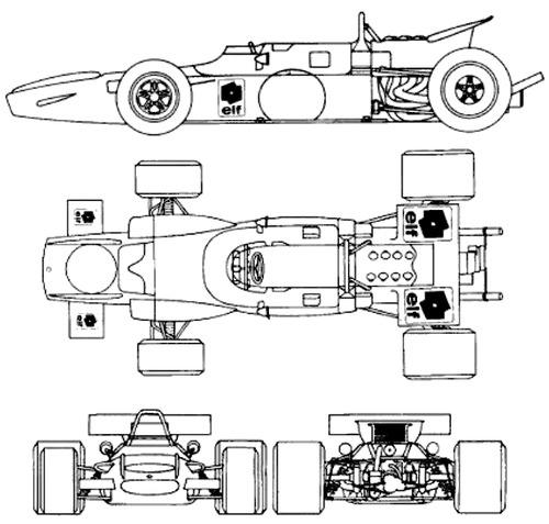 Matra MS 80 F1 GP (1969)