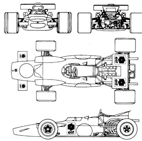 Matra MS 84 F1 GP (1969)