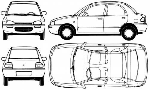 Mazda 121 Revue (1991)