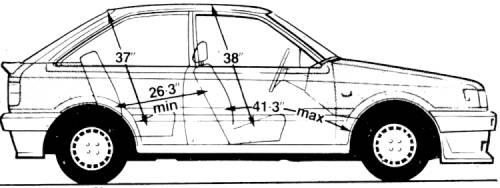 Mazda 323 1.6i (1986)