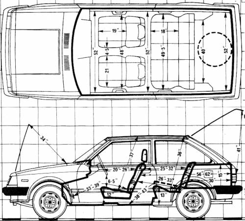 Mazda 323 3-Door 1300 1981