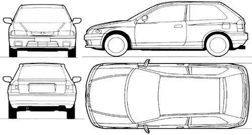 Mazda 323 3-Door (1996)