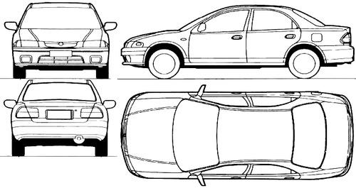 Mazda 323 4-Door (1996)