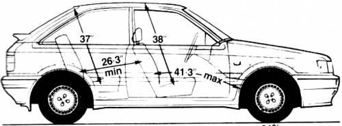 Mazda 323 4x4 Turbo (1986)