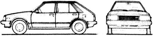 Mazda 323 5-Door (1984)
