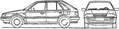Mazda 323 5-Door (1988)