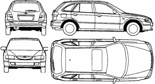 Mazda 323 F (2000)
