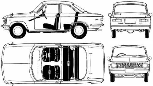 Mazda 323 Familia 1000 Coupe