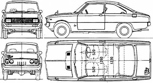 Mazda 323 Familia Rotary Coupe (1968)