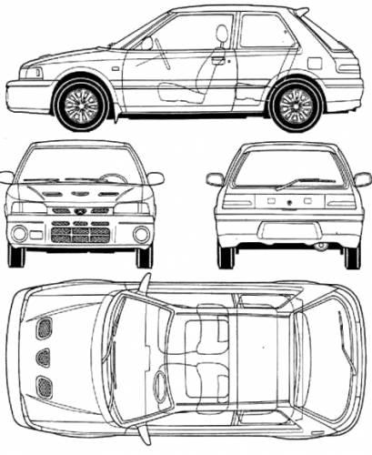 Mazda 323 GTR