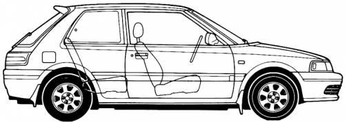 Mazda 323 Hatchback (1993)