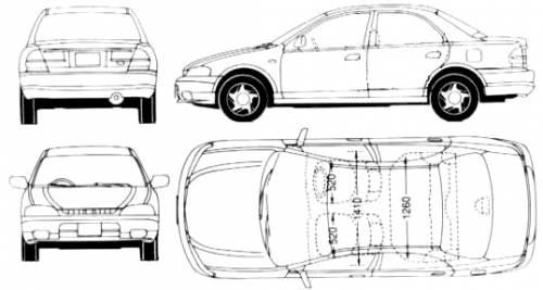 Mazda 323 Lantis (1997)