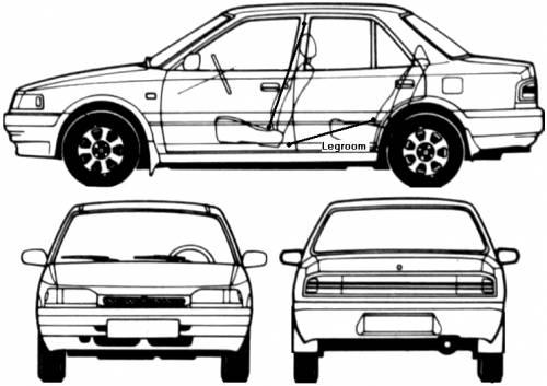 Mazda 323  Protege (1995)