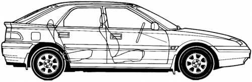 Mazda 323F (1993)