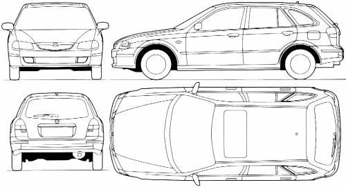 Mazda 323F Lantis (1998)