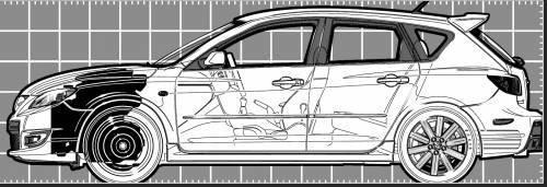 Mazda 3 Hatchback (2006)