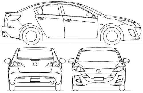 Mazda 3 S2 4-Door (2009)