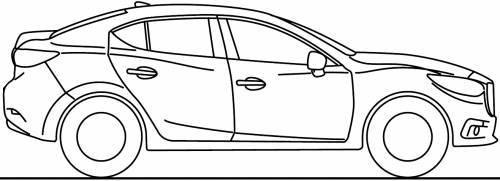 Mazda 3 S3 4-Door (2014)