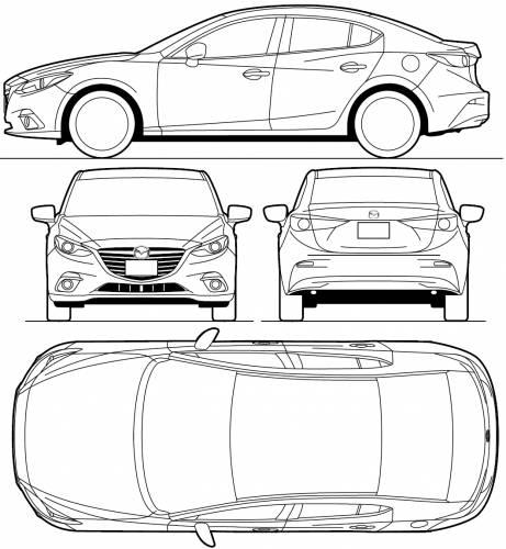 Mazda 3 Sedan (2013)