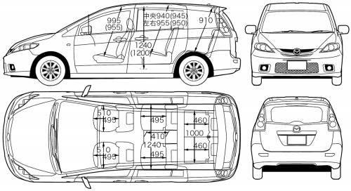 Mazda 5 Premacy (2006)