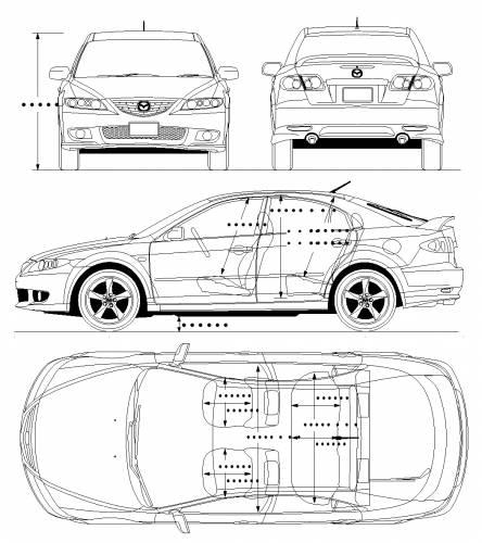 Blueprints Gt Cars Gt Mazda Gt Mazda 6 Sport