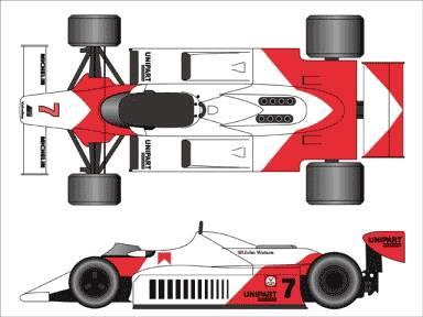 McLaren MP4-1 F1 GP (1981)
