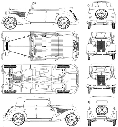 Mercedes-Benz 170V (1939)