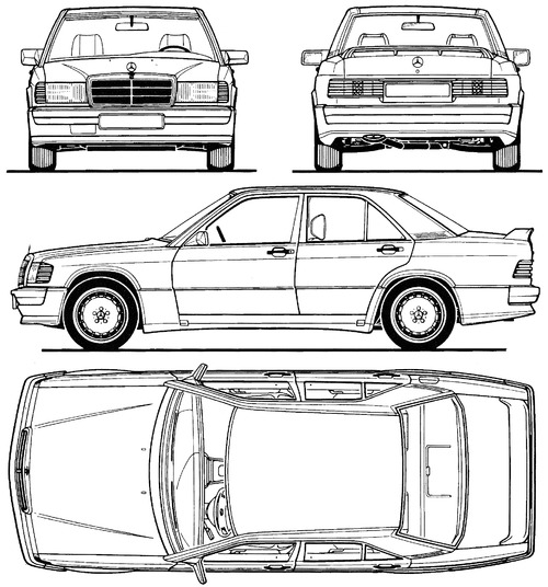 Mercedes-Benz 190E 2.5-16 (1990)