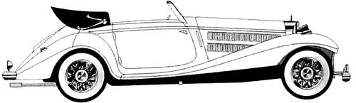 Mercedes-Benz 540K Cabriolet B (1936)