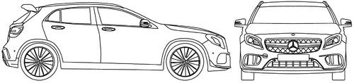 Mercedes-Benz GLA45 (2017)