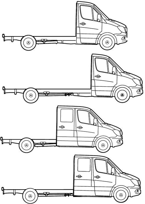 Mercedes-Benz Sprinter Chassis (2016)