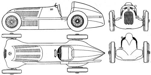 Mercedes-Benz W25 B