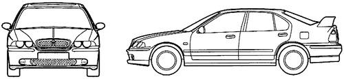 MG ZS 4-Door (2001)