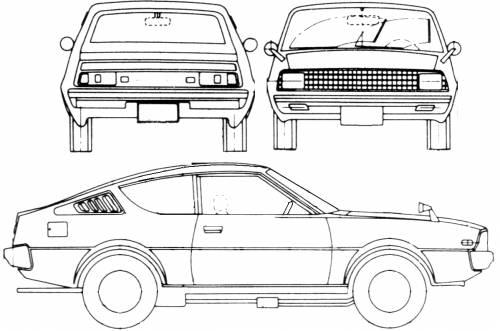 Mitsubishi Celeste (1980)