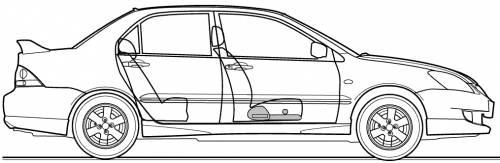 Mitsubishi Lancer Cedia (2006)