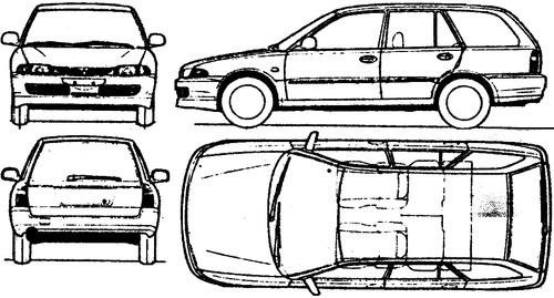 Mitsubishi Lancer Estate (1992)